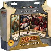 Heavenly Inferno Commander 2011 Deck SEALED Box Magic Gathering EDH Rare Cards