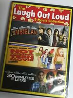 30 Minutes of Less/Not Another Teen Movie/Zombieland (DVD,2015,2-Disc Set) MINT!