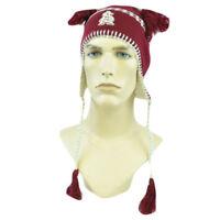 NCAA Zephyr Alpine Tassel Knit Beanie Hat Ear Flaps Arizona State Sun Devils