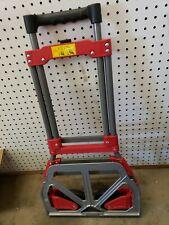 2-Wheel Red Steel Folding Hand Cart/ Wagon