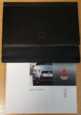 GENUINE MITSUBISHI COLT HANDBOOK OWNERS MANUAL 2008-2012 WALLET PACK H-993