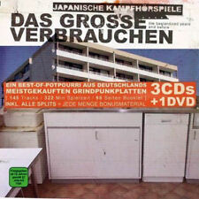 Japanische Kampfhörspiele - Das Grosse Verbrauchen 3 CD+DVD Box-Set, Heavy Metal