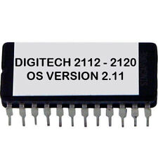 Digitech 2112 2120 Artist OS V 2.11 Latest Update Upgrade Firmware Chip Eprom