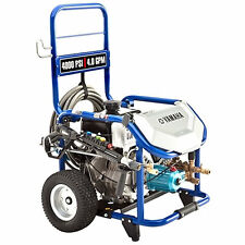 Yamaha Professional 4000 PSI (Gas - Cold Water) Pressure Washer w/ CAT Pump
