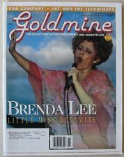 GOLDMINE issue 408 March 1996  BRENDA LEE  JAY & THE TECHNIQUES  BAD COMPANY