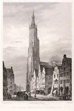 Landshut-St. martins-iglesia-Gustav Georg Lange-acero clave 1837