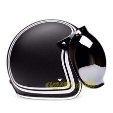 Visiera BUBBLE FLIP-UP silver casco tipo biltwell bandit bolla cafe racer 101731