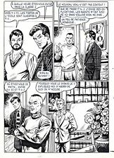 FLASH ESPIONNAGE PLANCHE ORIGINALE AREDIT PAGE 8