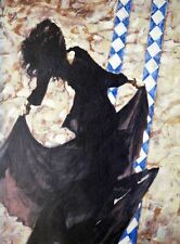 """Aldo Luongo """"Spanish Passion"""" 25x18.5 Giclee stretched Canvas Hand Signed/# COA"""