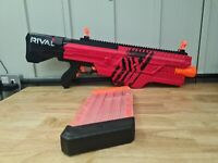 NERF RIVAL MXVI-4000 GUN BLASTER RED WITH MAG