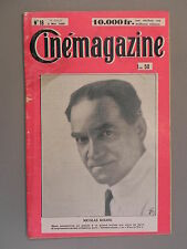 Cinémagazine - N°18 - 3 Mai 1929 - Nicolas KOLINE - JAQUE-CATELAIN