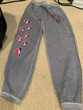 Firehouse Gray Grateful Dead Sweatpants Pants Girl's - Size Medium