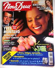 Photoromans NOUS DEUX 23/10/2001; Interview Tonya Kinzinger/ Yves Montand