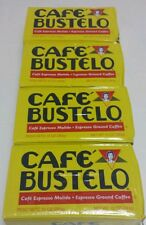 ((4 PACKS))((BOGO 10 % OFF))CAFE BUSTELO- CUBAN COFFEE ESPRESSO(4X10-oz BRICKS).