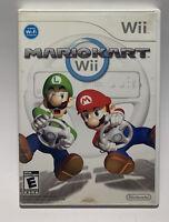 Mario Kart Wii 2008 Tested Works No Manual Nintendo Racing Game Multiplayer