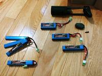 Helix Ultimate 11.1V 25C 1500mah Battery Krytac PDW Buffer Type 3S LiPO
