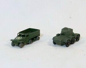 Lesney Nr°67 Saladin Armoured Car Nr°49 Personal Träger Bündel Antik