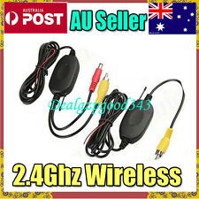 AU 2.4Ghz Wireless RCA Video Transmitter & Receiver Kit for Car Reversing Camera