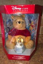 Disney Holiday Pooh 2002 Special Edition With Bonus Snow Globe