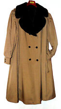 CANTERBURY WOMEN COAT POLYESTER BLEND COAT FAUX FUR LINING QUILTED LINING~22 1/2