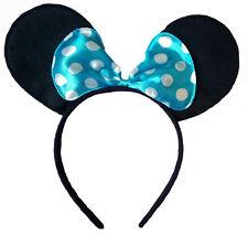 Orejas de ratón y Azul Arco Diadema-Disfraz Mickey Minnie-Disfraz