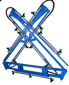 Sprayer 8 Mt Boom Pit arm unfolding design