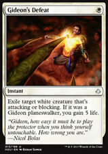 MTG GIDEON's DEFEAT FOIL EXC - SCONFITTA DI GIDEON - HOU - MAGIC