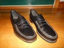 Dexter Hudson P640-1 penny loafers - Men's sz 11 D - Black leather - EX cond