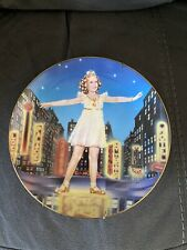 Shirley Temple Collectors Plate Little Miss Broadway #B2599 The Danbury Mint