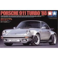 Tamiya Porsche 911 Turbo 1988 1:24 Model Kit - Grey (24279)