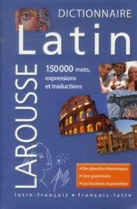 LAROUSSE DE POCHE ; maxi poche plus ; latin-français/français-latin