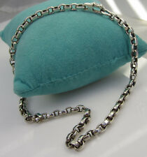 Sterling Silver 39.1 Gram Necklace Estate Vintage Rare Barry Kieselstein Cord