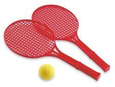adriatic Softtennis-Set mit 2 Schläger und 1 Ball Tennis Ball Spielen Rackets