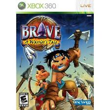 Pal version Microsoft Xbox 360 Brave a Warrior's Tale