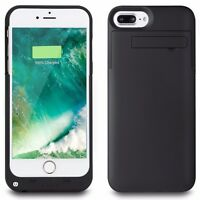 Slim External Backup Power Bank Battery Charger Case Cover For iPhone 8 7 6 Plus