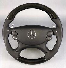 Mercedes madera volante paddles AMG sl r230 CLK w209 CLS w219 w211 pájaro ojos Arce