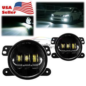 For 2005 Chrysler 300 Pair of Clear Lens LED Lamp Fog Light OEM Replacement F3