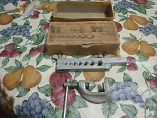 vintage tube flaring tool made in USA zoerman-clark 79a