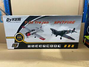 Dynam Spitfire MKIX W/Retracts 1200mm W/O TX/RX/Batt - Please Read - DYN8942V3