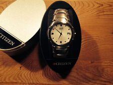 New - Reloj Watch Montre CITIZEN Quartz - Steel Acero - Light gray dial - Nuevo