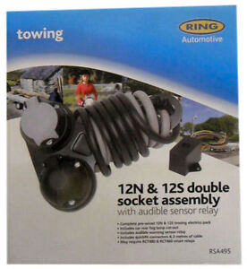 Towing Accessory - Double Socket Assembly - Ring Automotive - (RSA495)