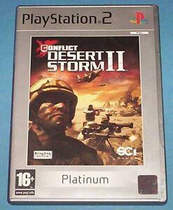 Conflict: Desert Storm II -- Platinum Edition (Sony PlayStation 2, 2003) - UK