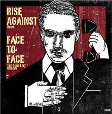 """Rise Against/Face to Face Split YELLOW VINYL 7"""" Record non lp songs! punk NEW!!!"""