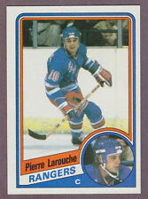 1984-85 Topps Hockey Pierre Larouche #108 NY New York Rangers NM/MT
