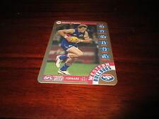2013 TEAM COACH GOLD CARD WESTERN BULLDOGS SHAUN HIGGINS CARD TEAMCOACH