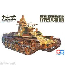 Tamiya 1/35 35075 Japanese Medium Tank Type 97 Chi-ha Model Kit