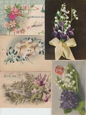 PERLE FLEURS PEARL FLOWERS 133 Cartes Postales Mostly Pre-1940