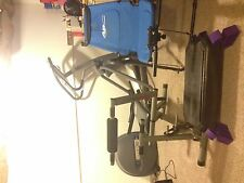 """Workout Lot """"Precor"""" Elliptical, Body By Jake, Ab Lounger, Step up. Rarely Used!"""
