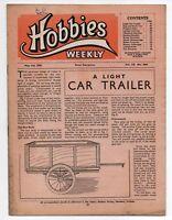 Vintage Hobbies Weekly Magazine Vol 110 No 2844 printed in 1950