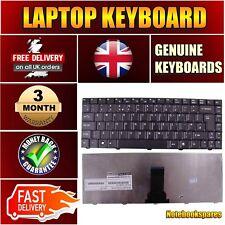For EMACHINES E520-571G16MI E520-573G16MI Keyboard Matte Black UK No Frame